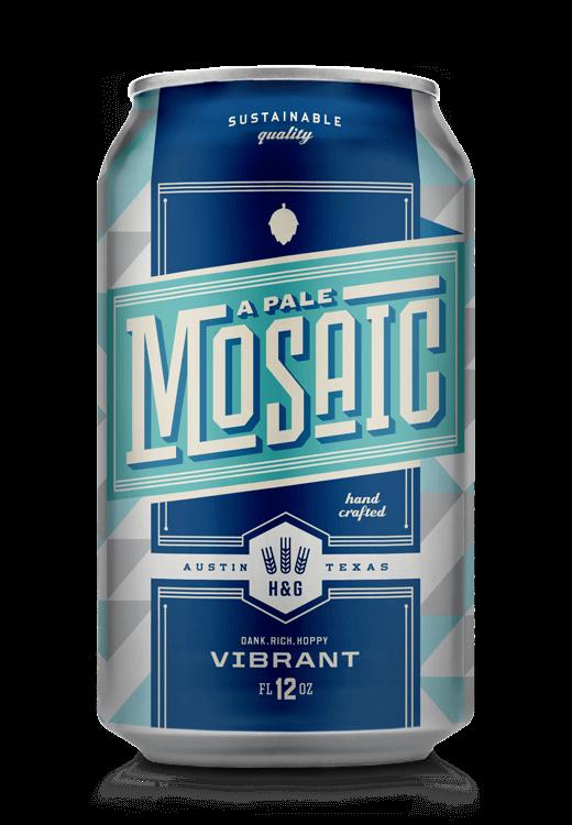 Wunderbar Pale Mosaic