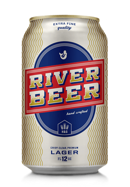 River Beer Lager